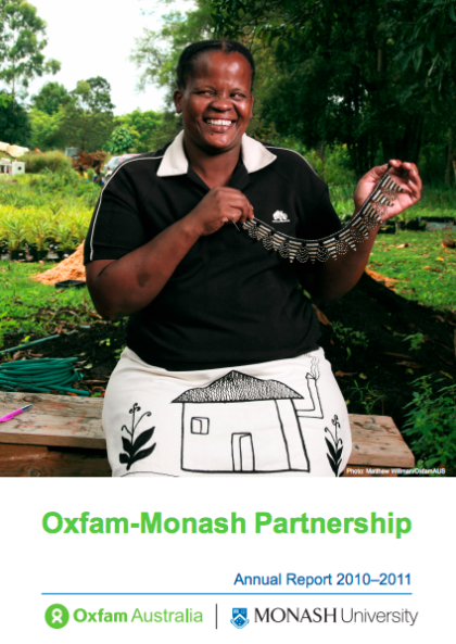 OMP Annual Report Cover